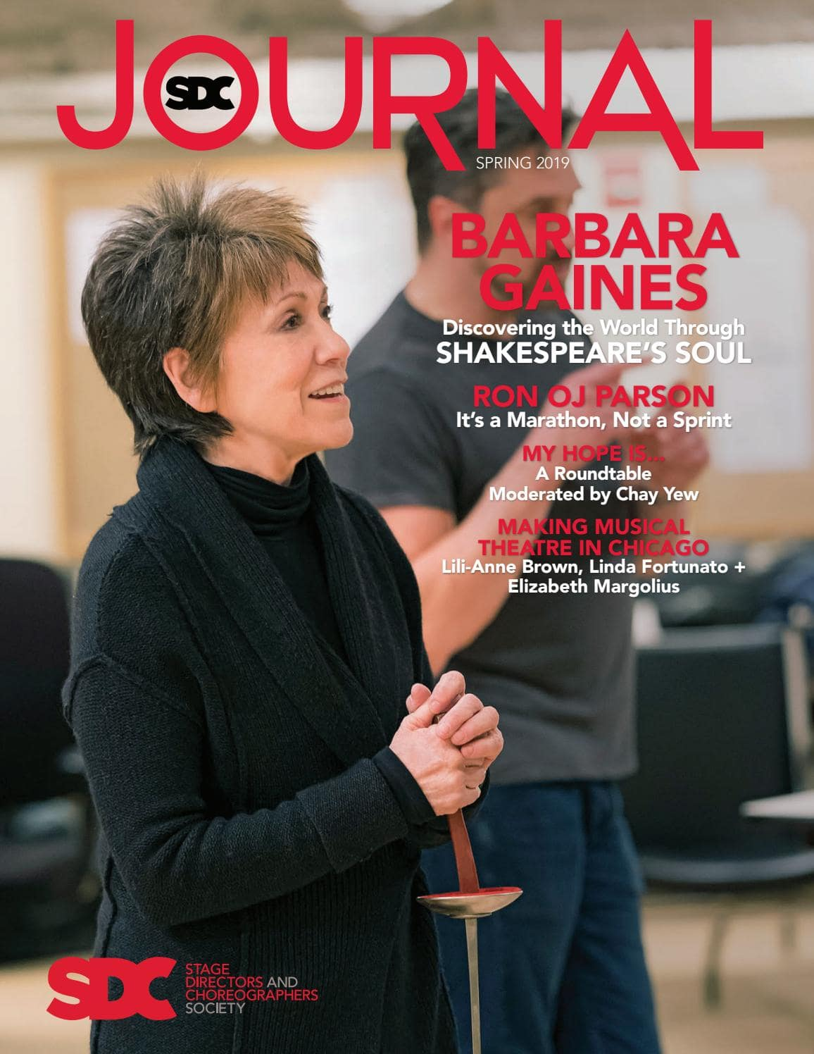 Read Elizabeth's SDC Journal cover-feature interview (along with fellow Chicago theatremakers Lili-Anne Brown and Linda Fortunato)